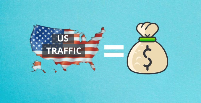 Hunt Down US Traffic for More Ad Revenue