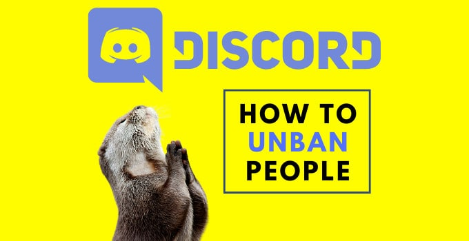 This is How You Unban Someone on Discord | 2020