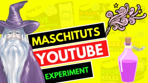 MaschiTuTs Youtube Experiment New