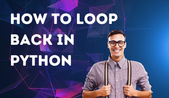 How to loop back in Python