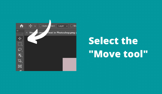 Select the Move tool