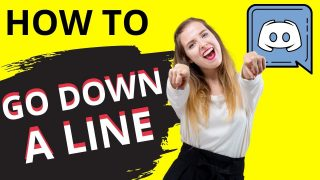 How to Go Down a Line