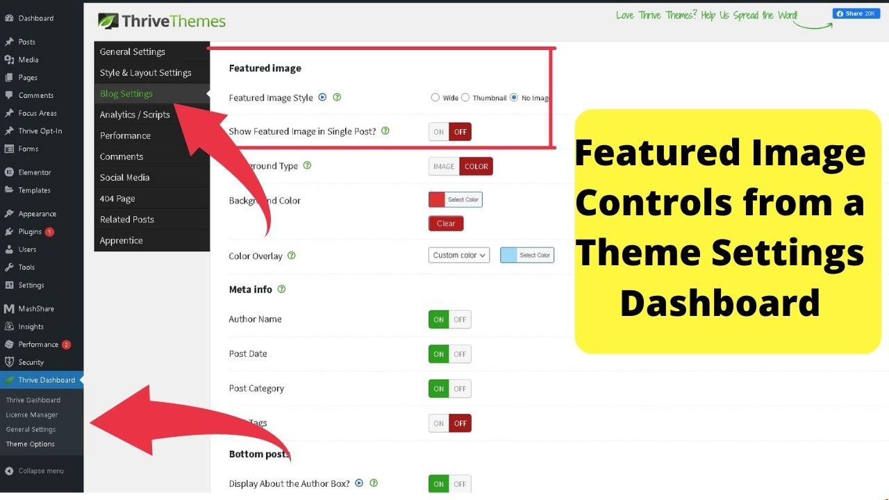 3 - Thrive themes dashboard
