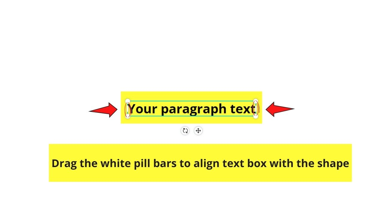 Aligning Text Box with Shape's Edges
