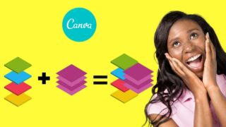 How to Group Layers in Canva