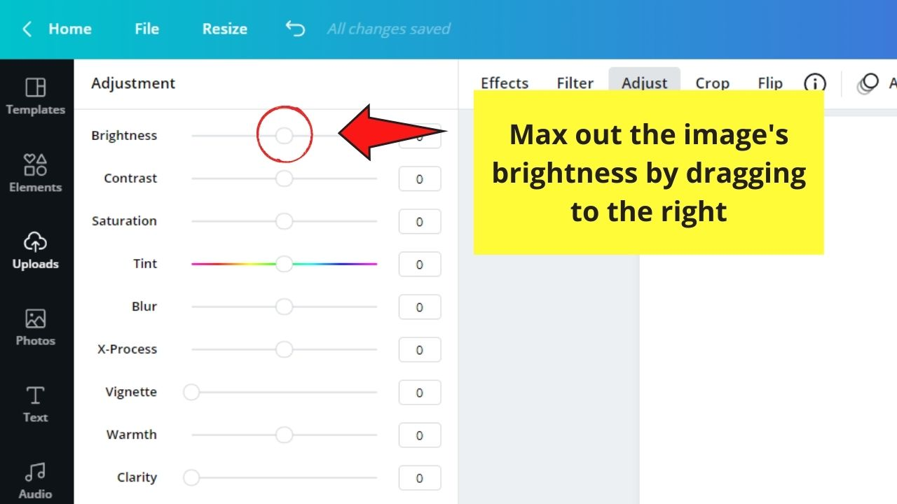 Maxing Out Image's Brightness