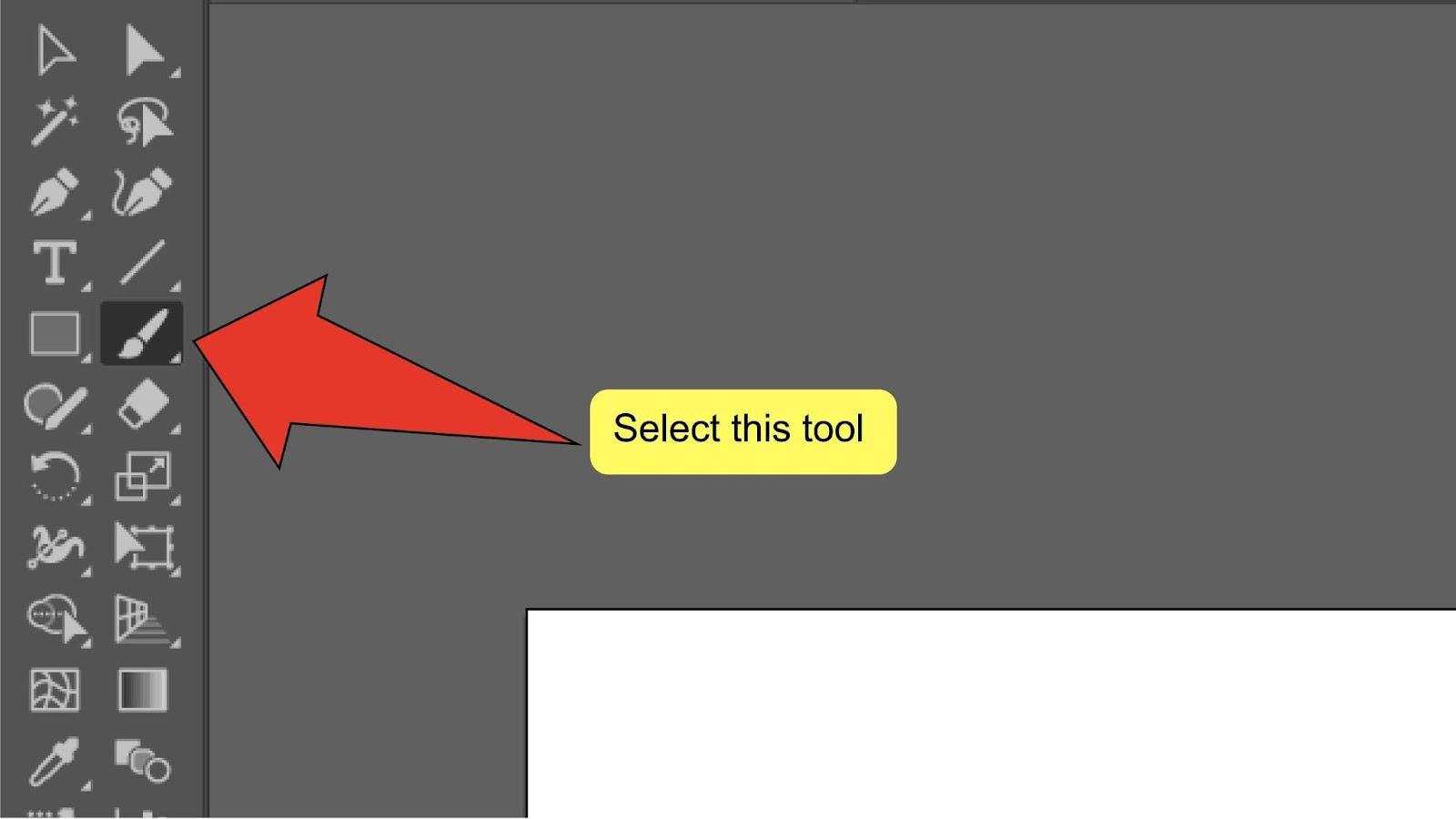 Change Brush Size Illustrator Step 2
