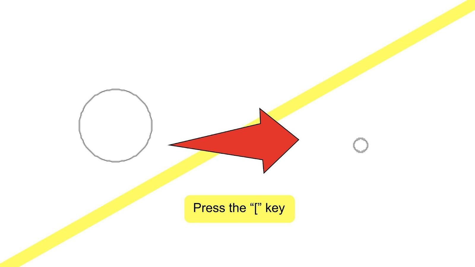 Change Brush Size Illustrator Step 3