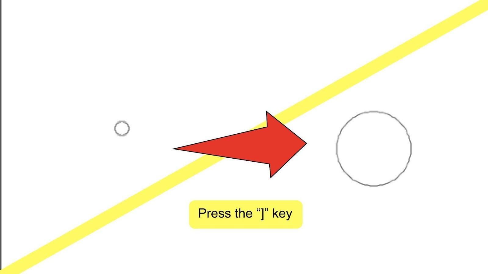 Change Brush Size Illustrator Step 4