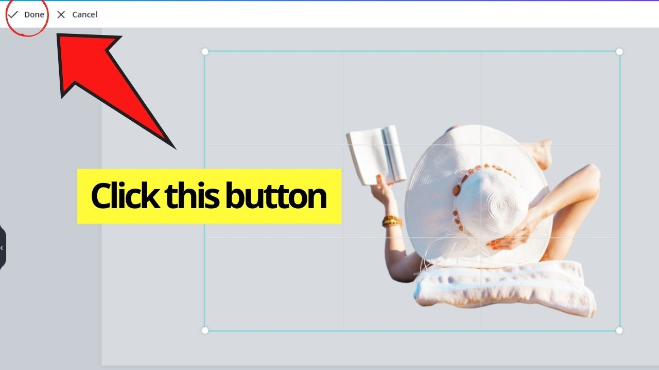 Clicking Done Button