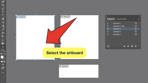 How To Change The Canvas Size in Illustrator Step 3
