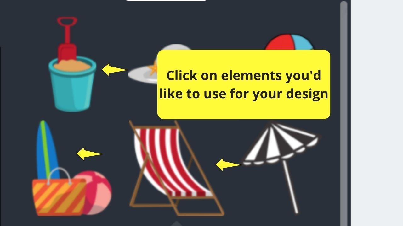 Selecting Elements for Design