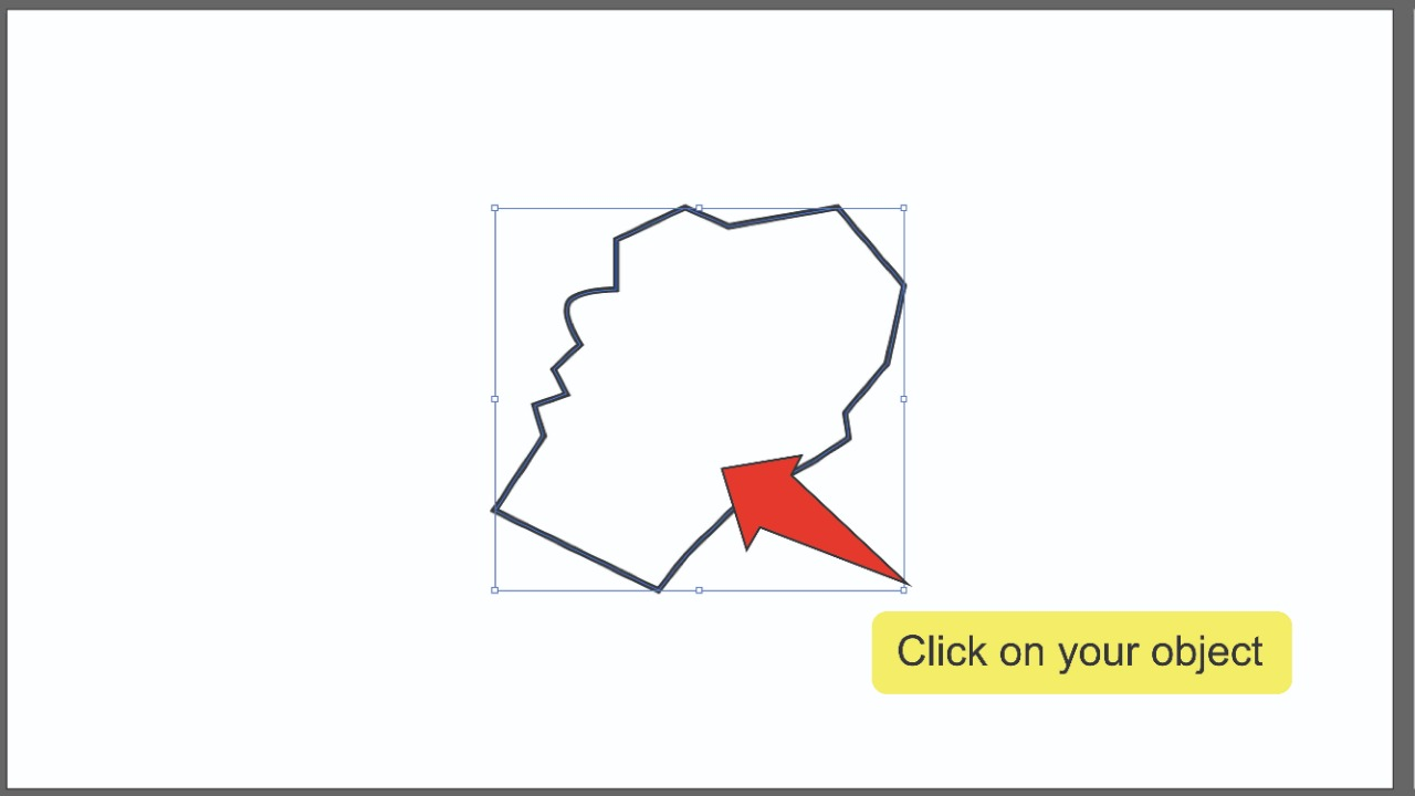 3. Smoothing Edges In Illustrator Using The Simplify Window Step 2