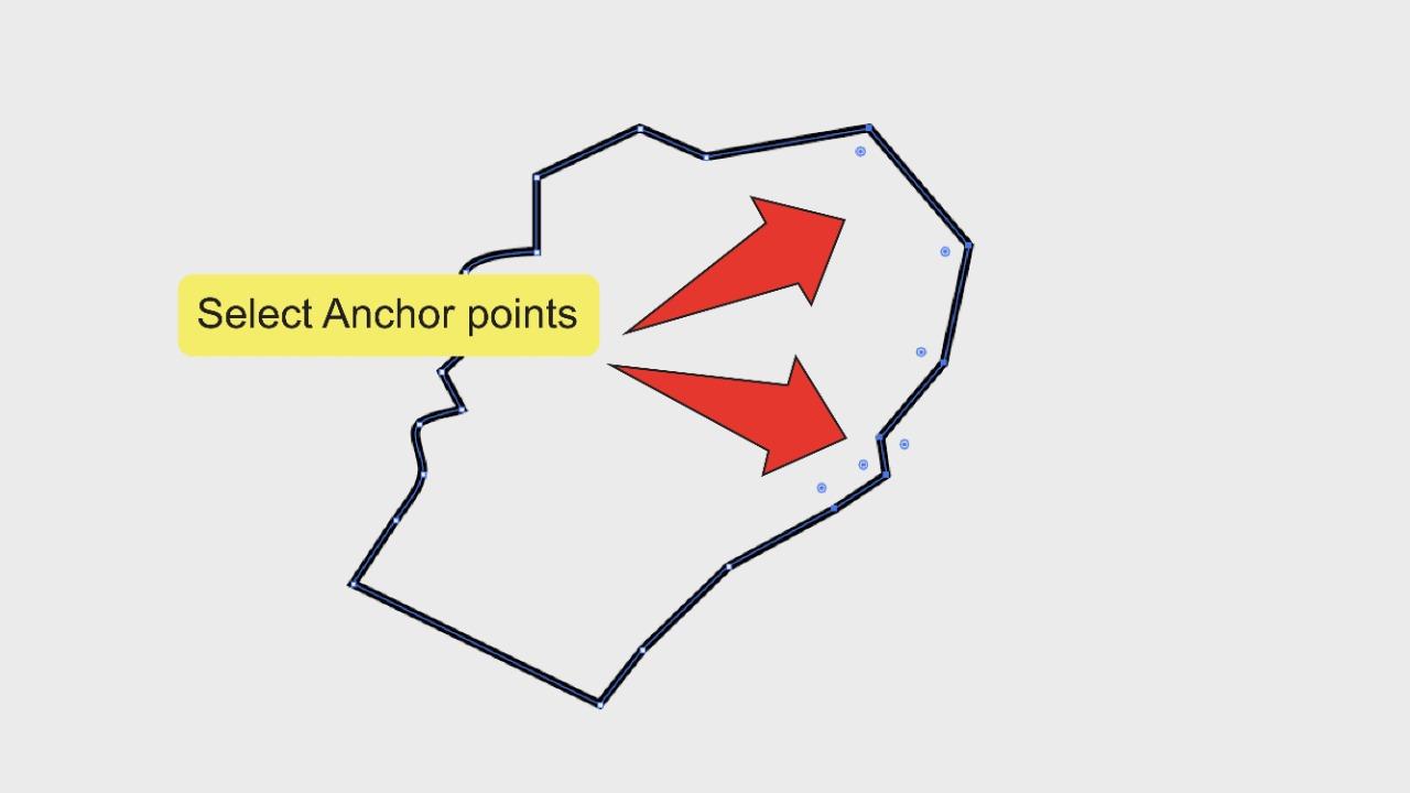 4. Smoothing Edges In Illustrator Using The Corner Widget Step 2