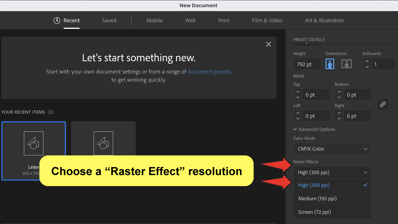 Adjust-DPI-in-Illustrator-Step-3