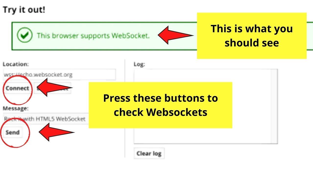Checking Websockets