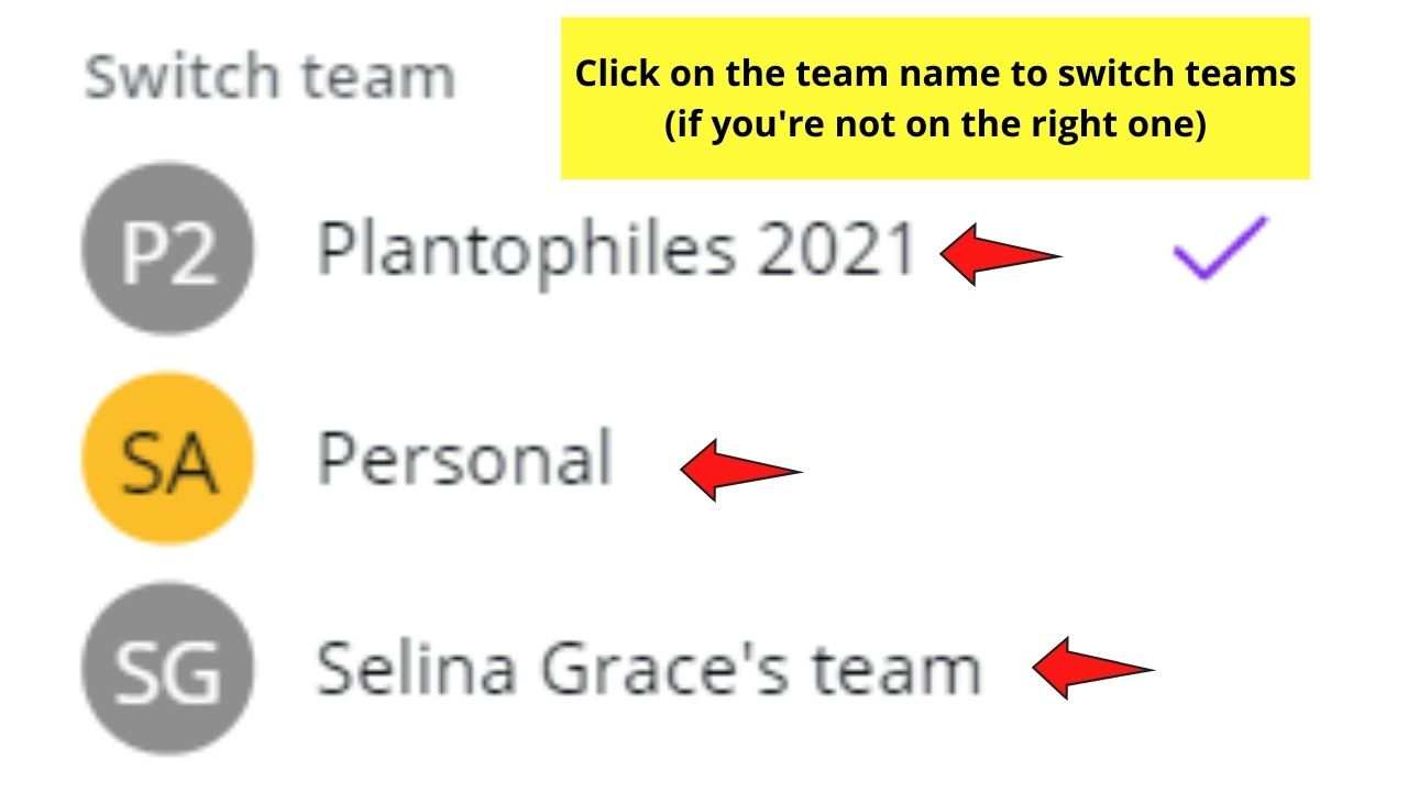 Checking if You're on the Right Team