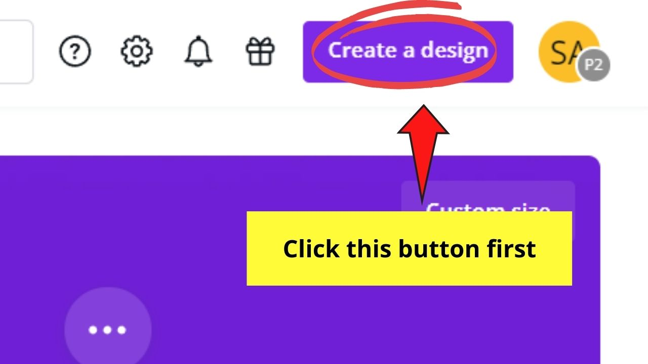 Create a Design Button