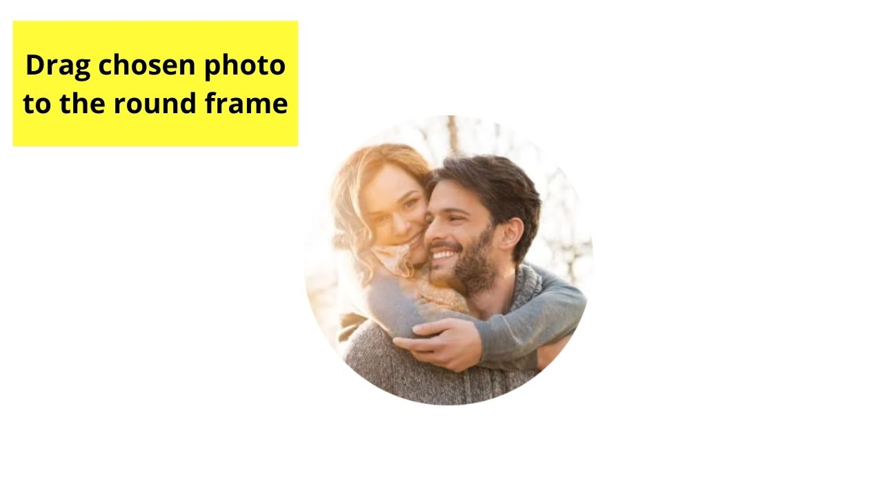 Dragging Picture inside Round Frame
