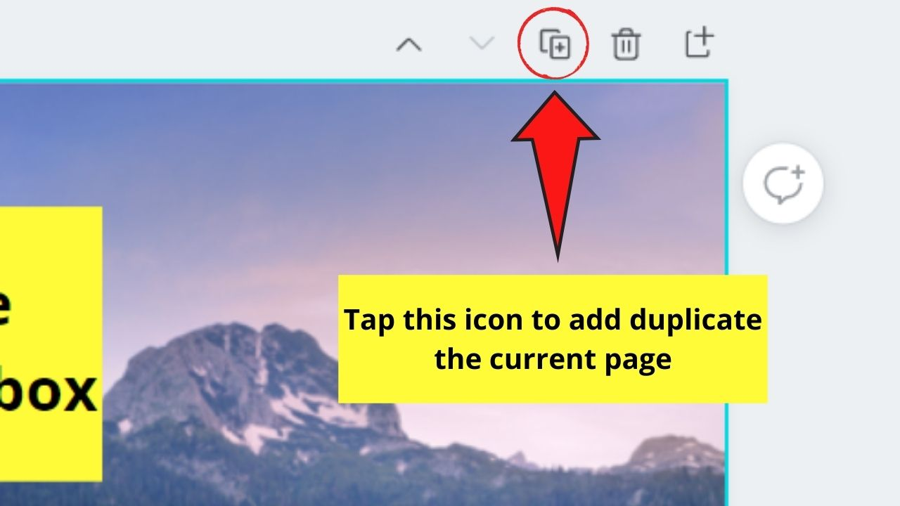 Duplicating Current Page