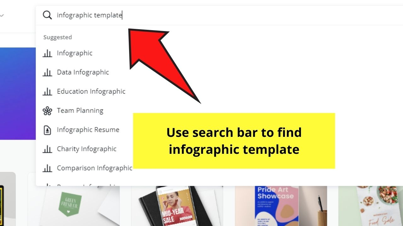 Finding Infographic Template