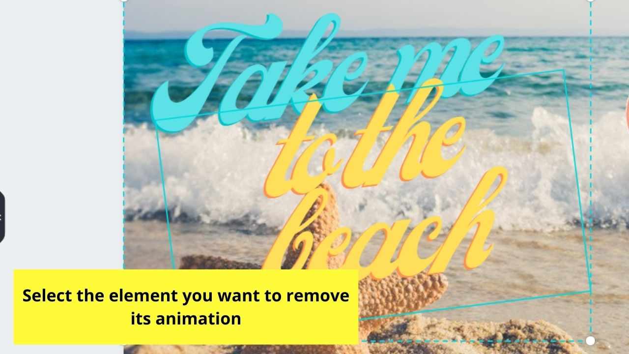 Highlighting Element to Remove Animation