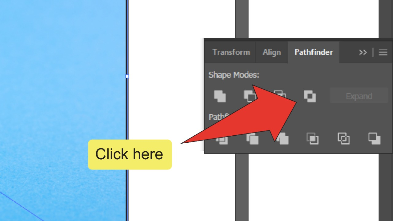 How To Erase Part Of An Image In Illustrator Step 10