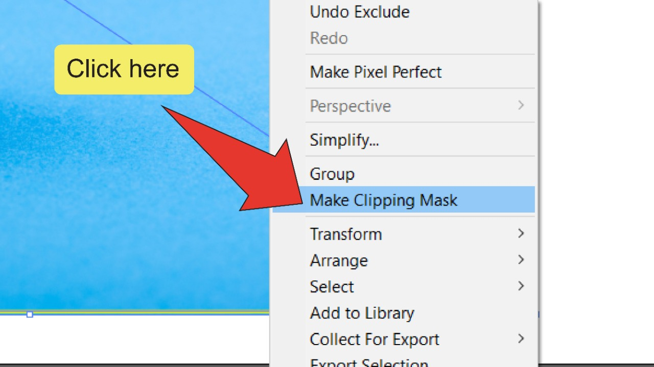 How To Erase Part Of An Image In Illustrator Step 12