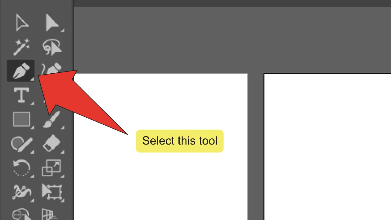 How To Erase Part Of An Image In Illustrator Step 3