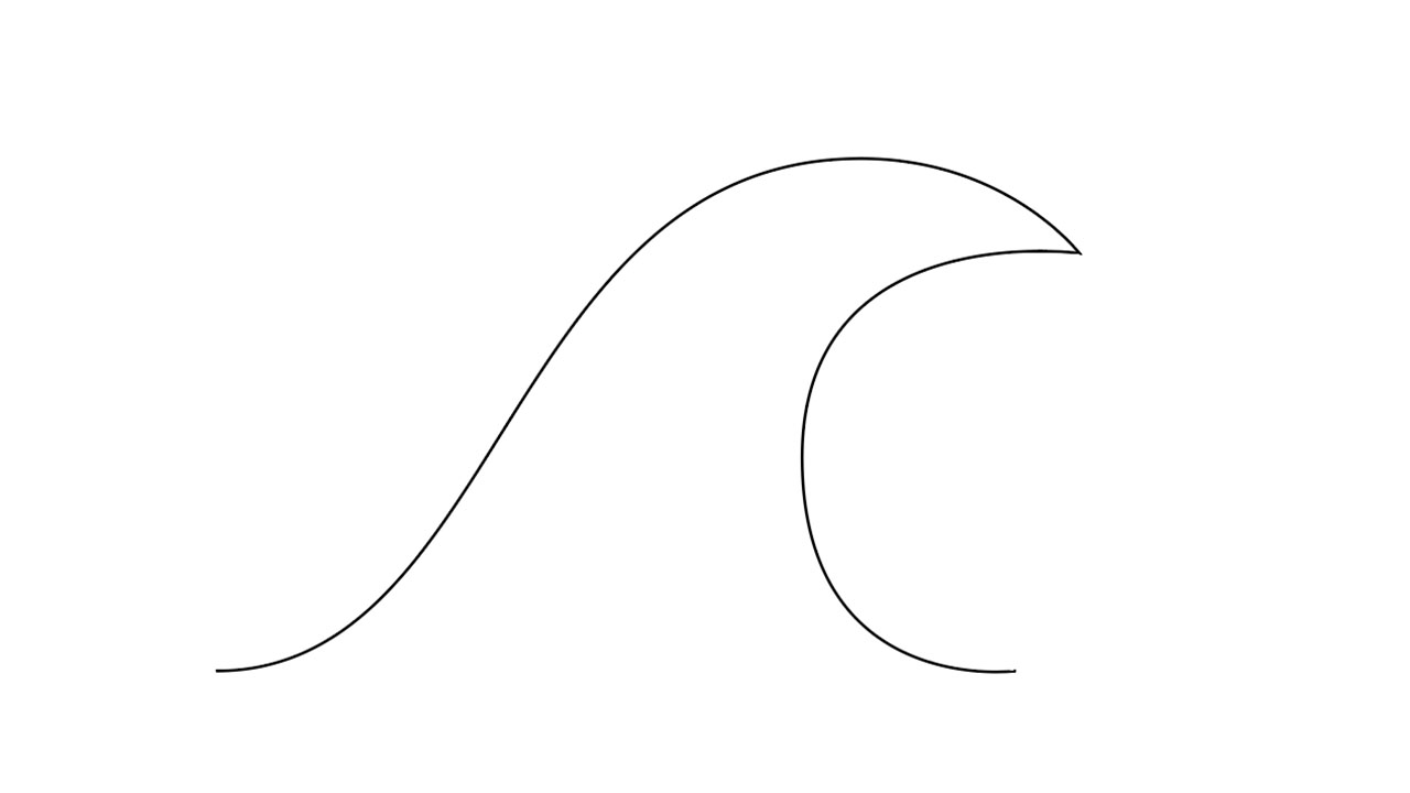 How To Make Waves in Illustrator Part 1 Step 8b