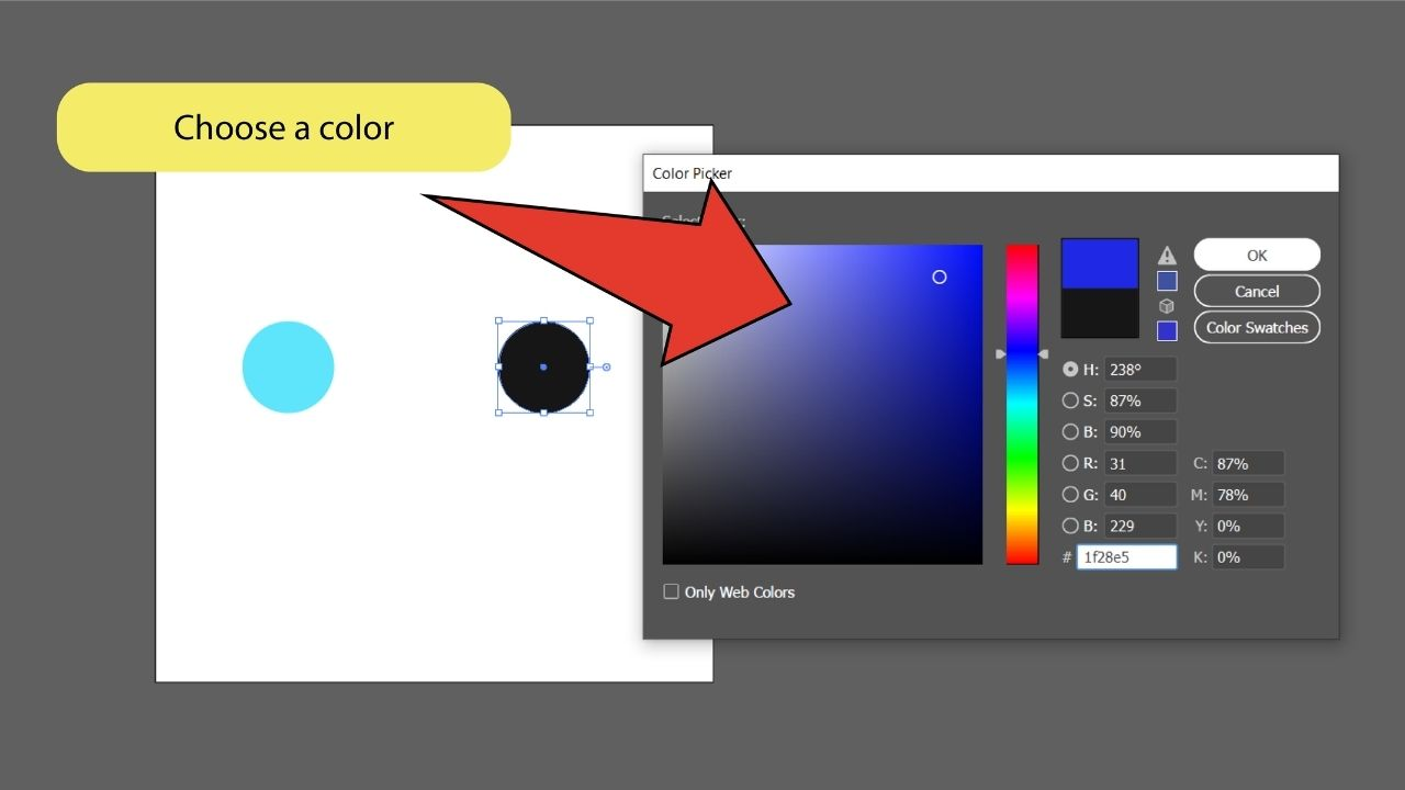 How to Blend Objects in Illustrator Step 6
