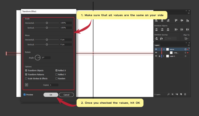 How to make Symmetrical Shapes Step 8