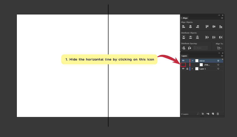 How to make Symmetrical Shapes Step 9