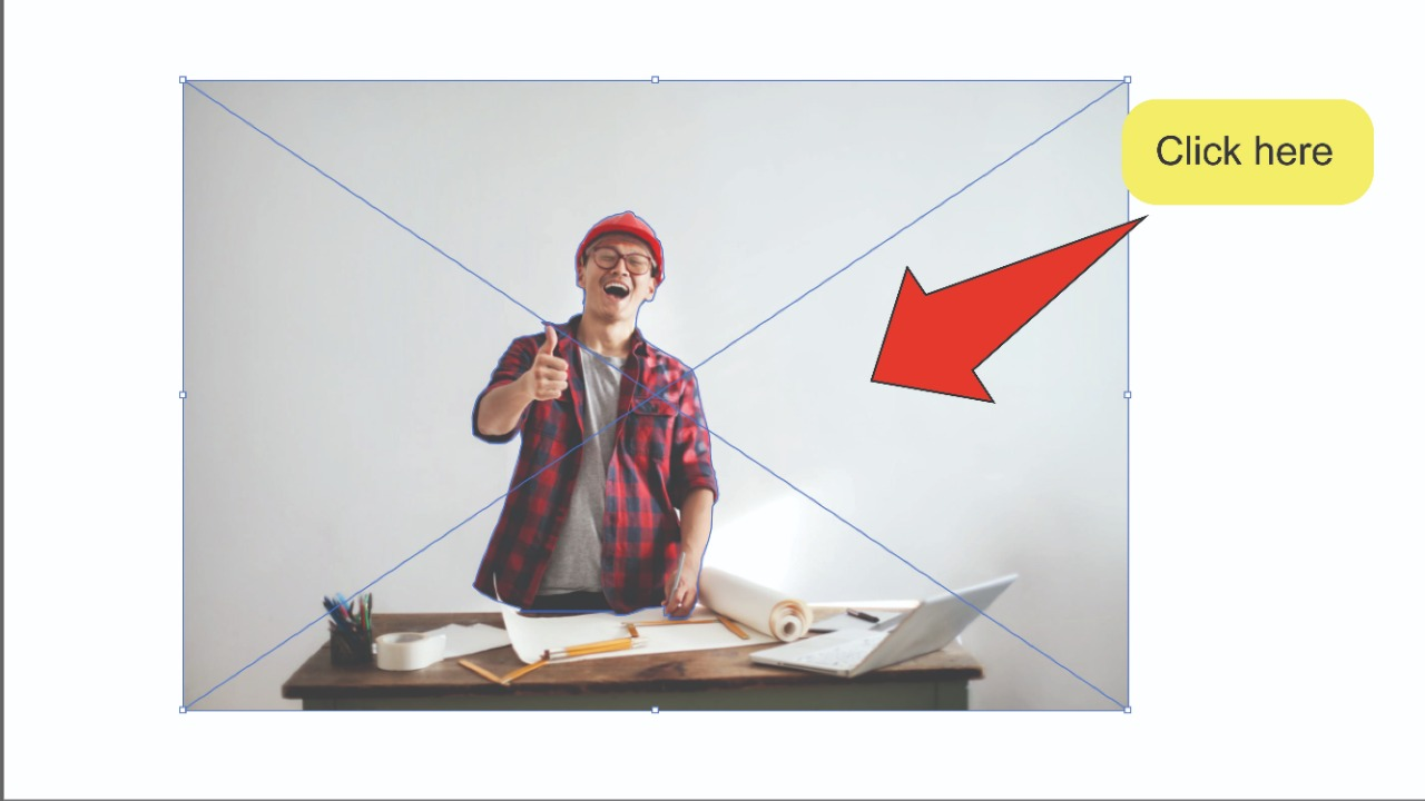How to remove the background of an image in Illustrator Step Using Image Trace 1