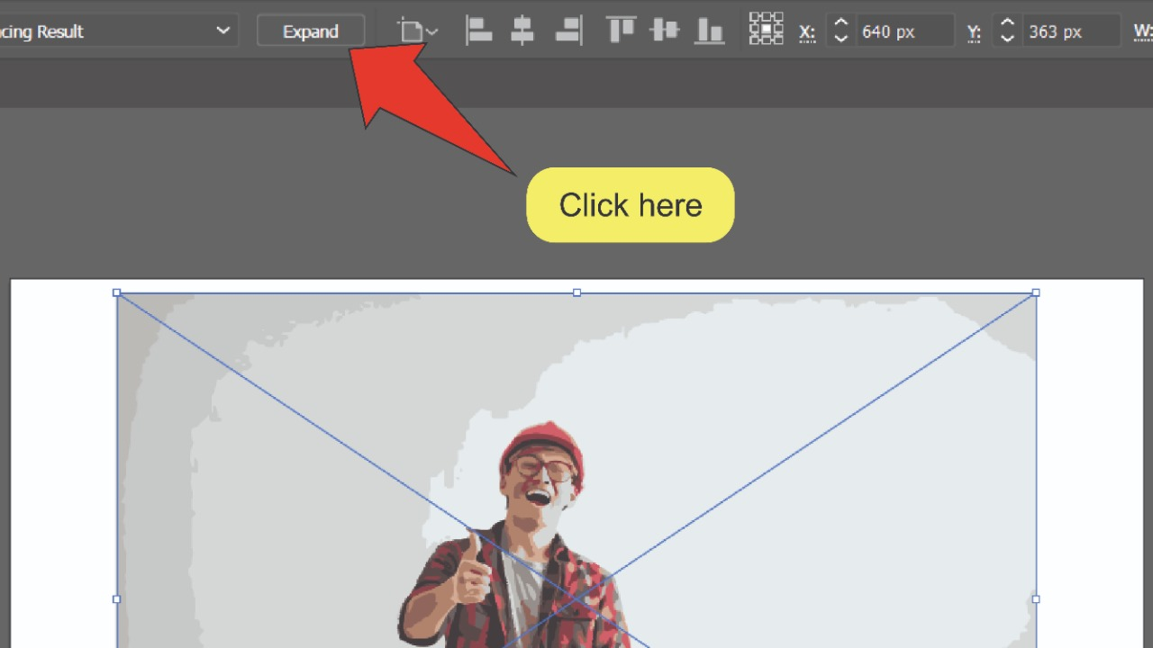How to remove the background of an image in Illustrator Using Image Trace 6