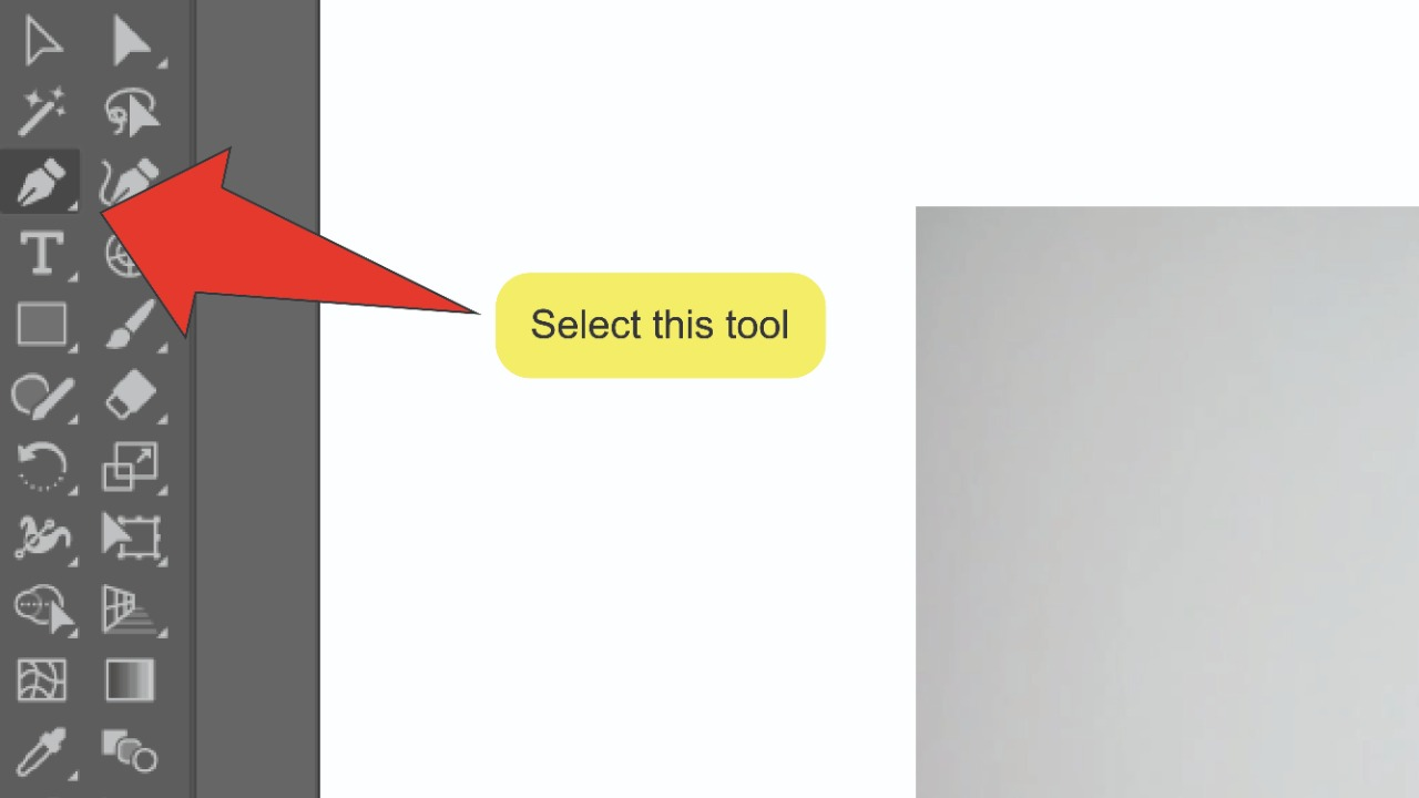 How to remove the background of an image in Illustrator Using a Clipping Mask Step 3