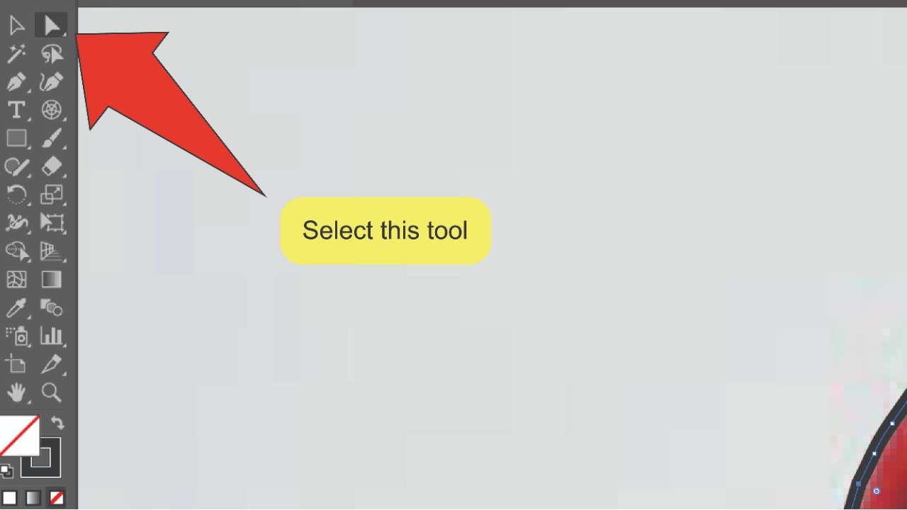 How to remove the background of an image in Illustrator Using a Clipping Mask Step 6