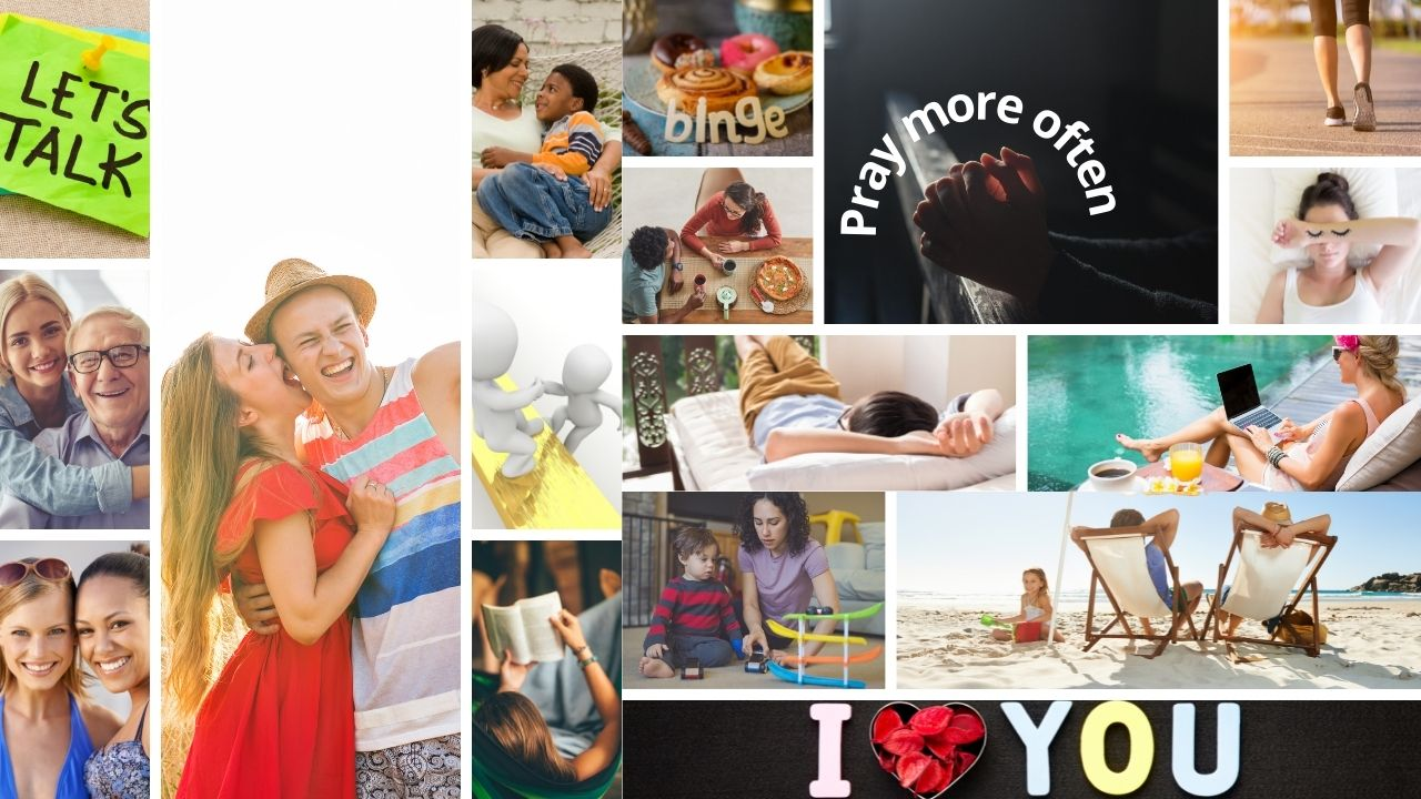 Photobook Style Vision Board