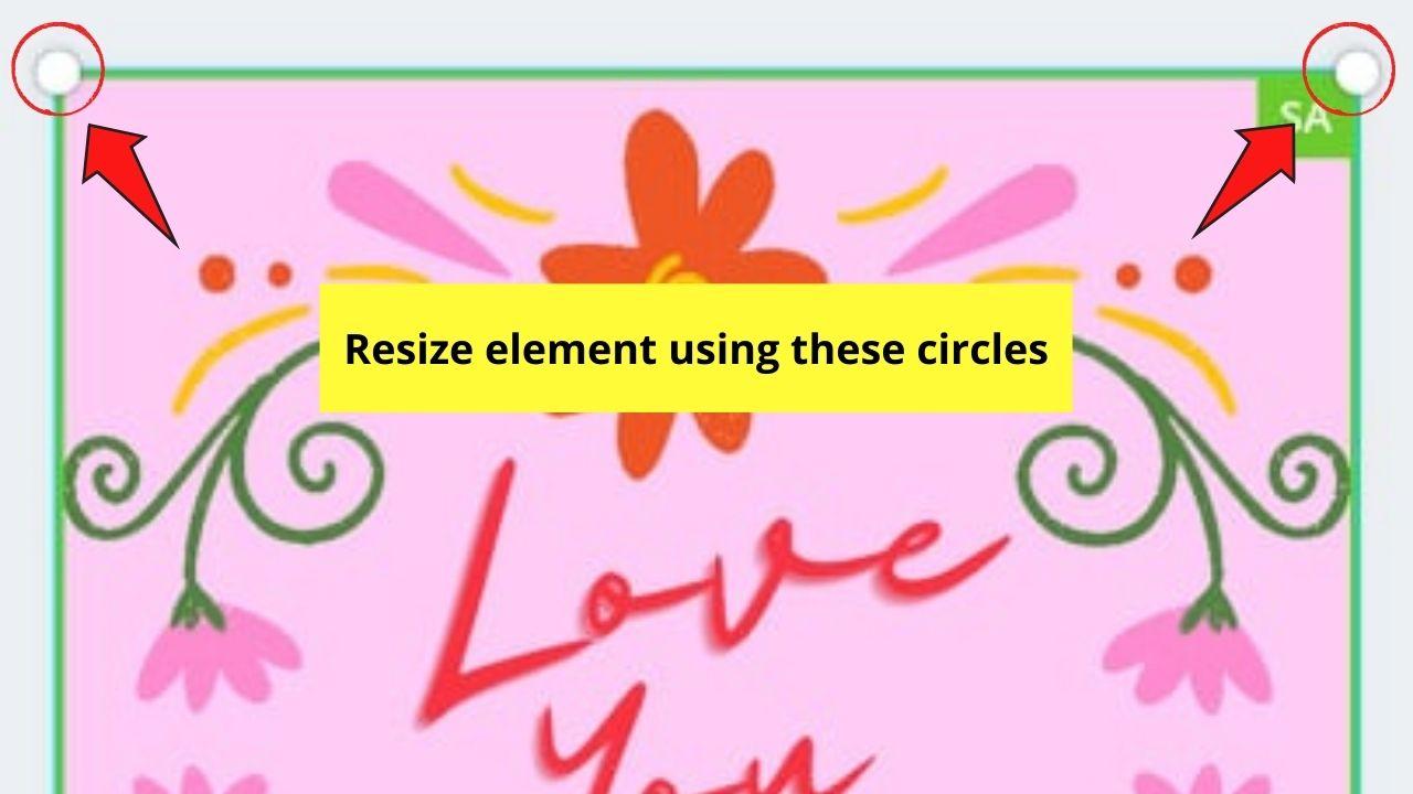 Resizing Elements