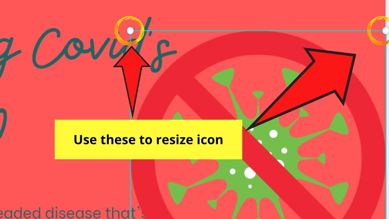 Resizing Icon