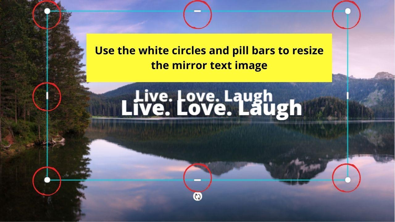 Resizing Text Image