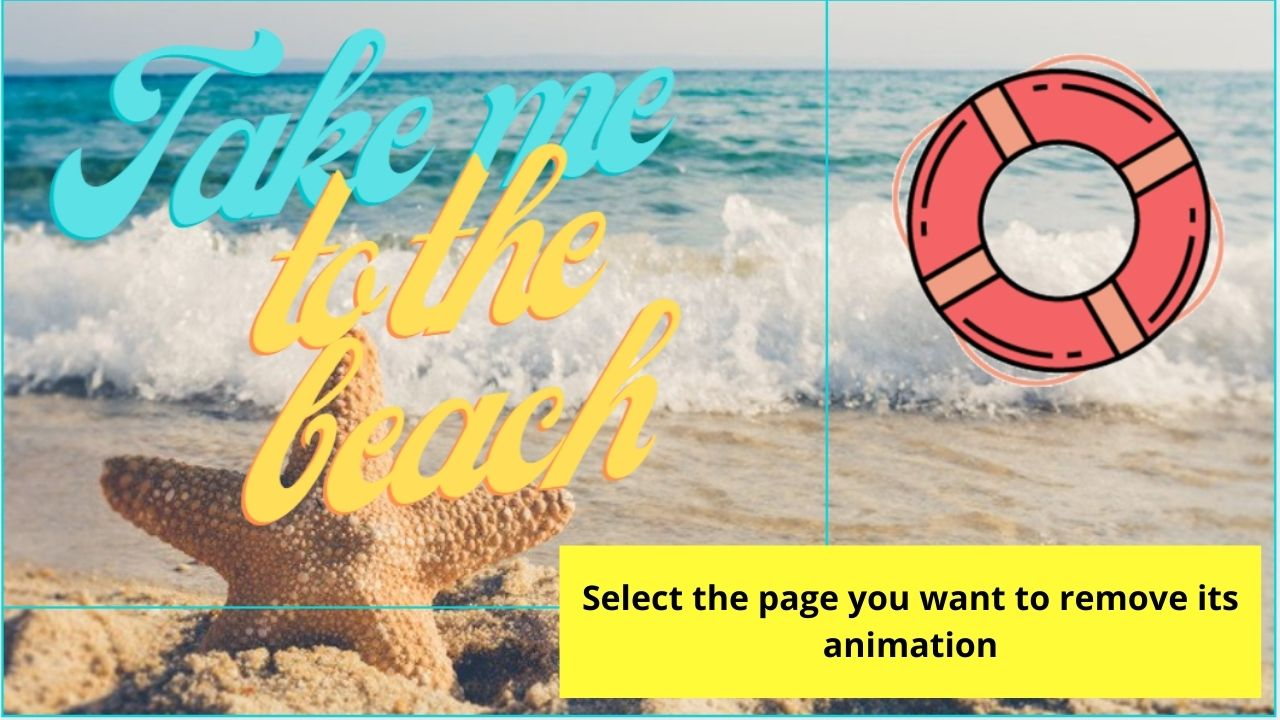 Selecting Page to Remove Animation