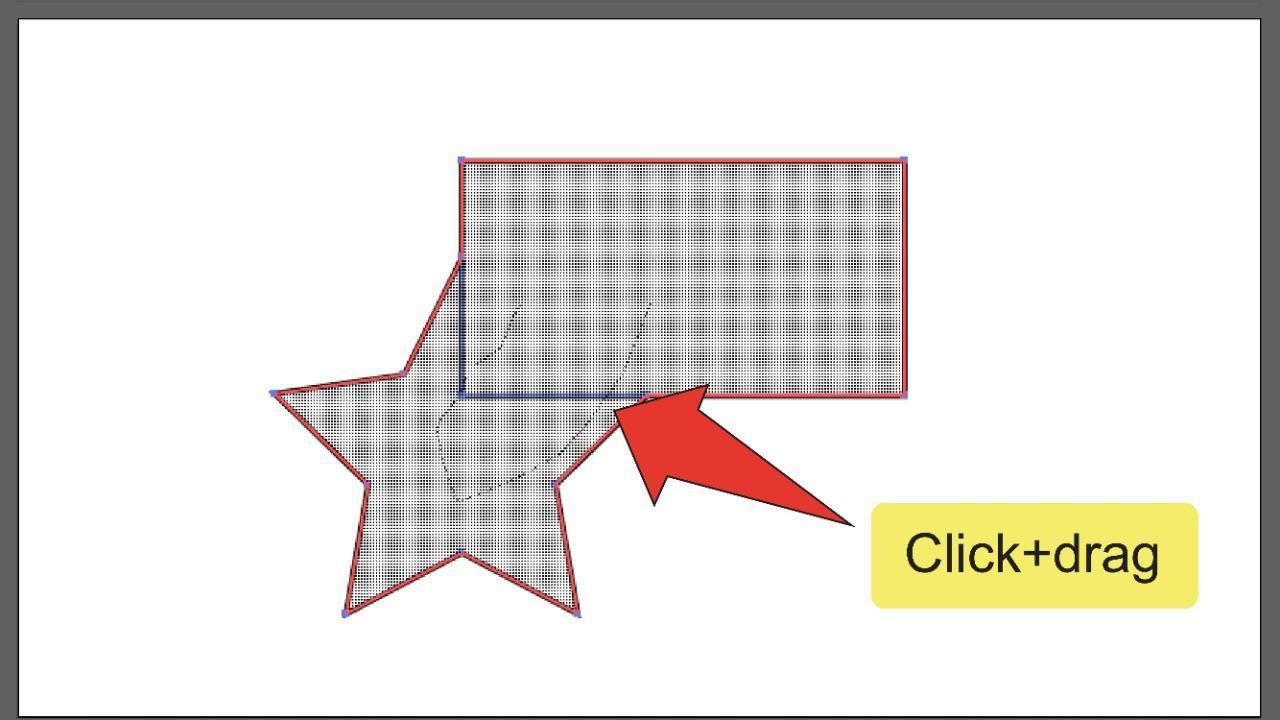 Merging Paths In Illustrator Using The Shape Builder Tool Step 4