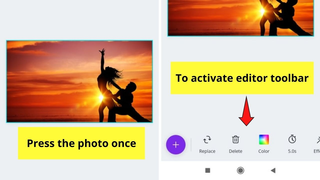 Activating Editor Toolbar