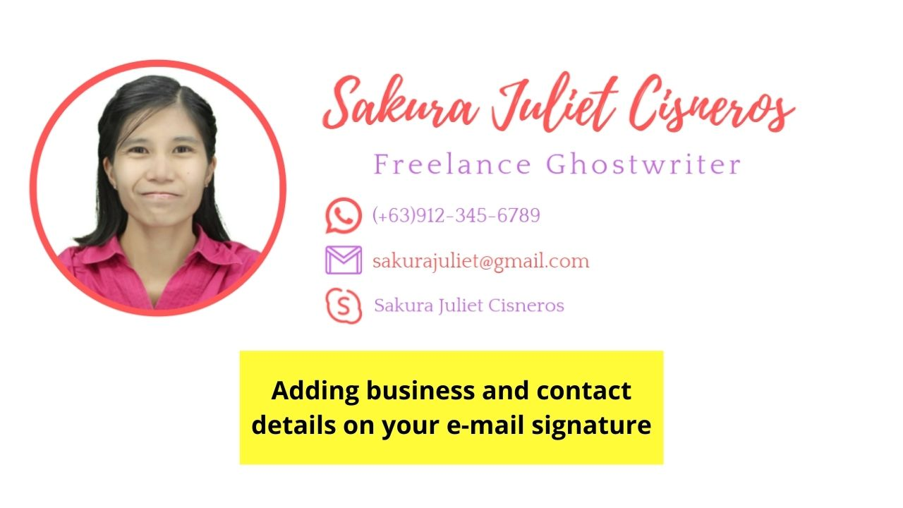 Adding Business and Contact Details