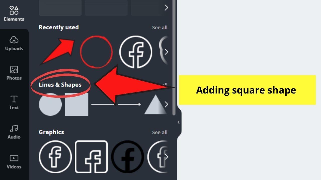 Adding Square