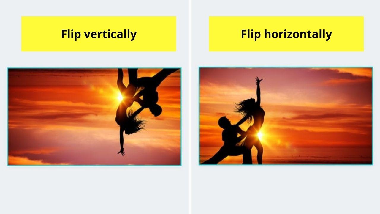 Flip Vertically and Flip Horizontally