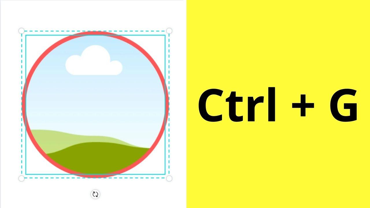 Grouping Frame and Circle
