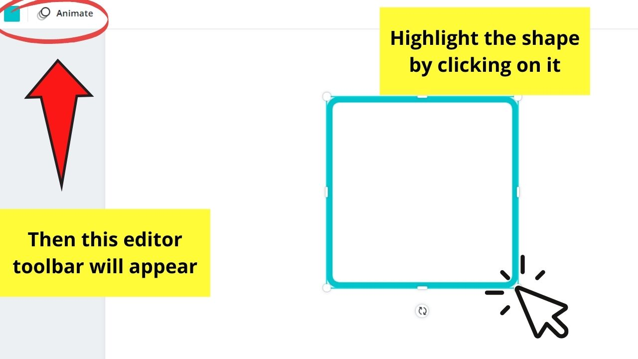 Highlighting the Shape
