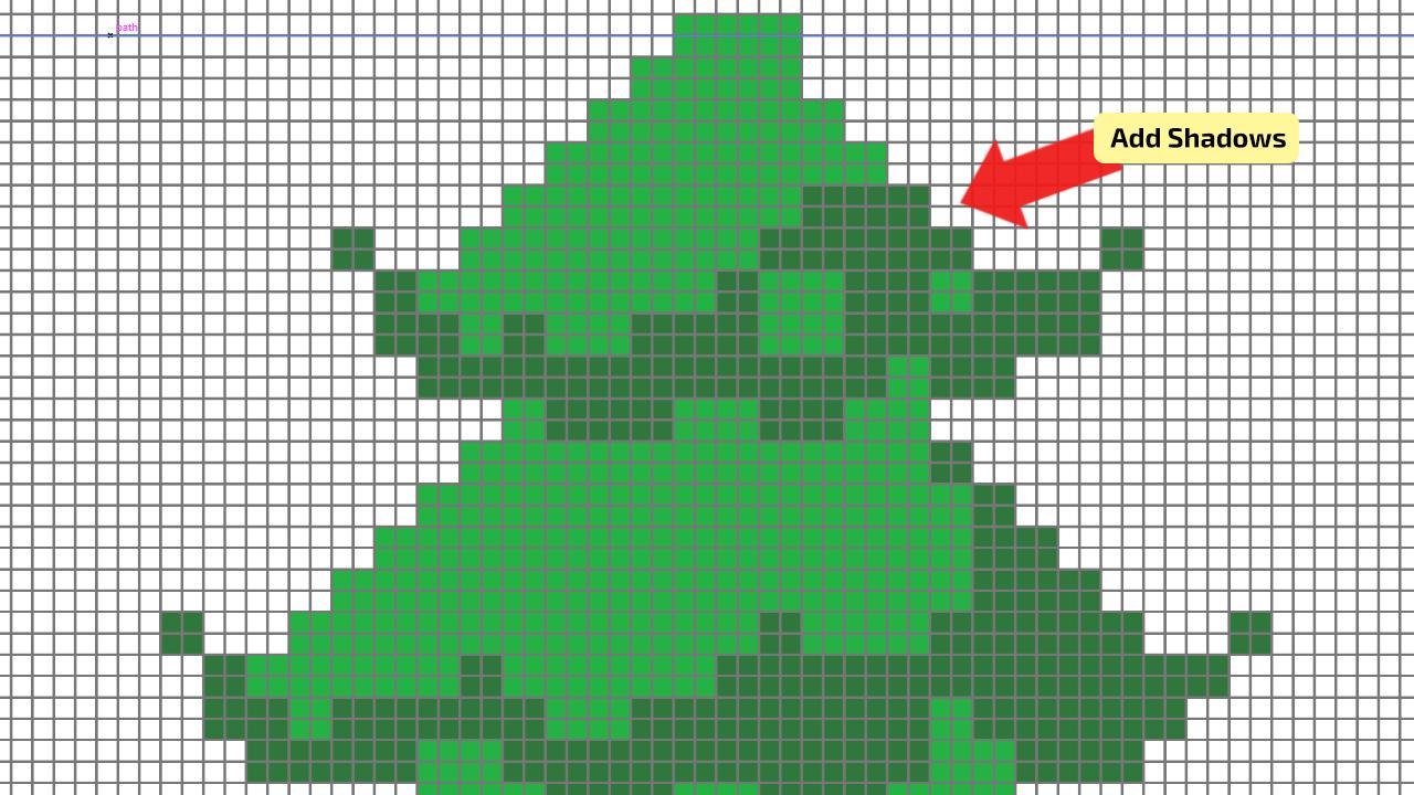 How to make Pixel Art in Illustrator Step 8